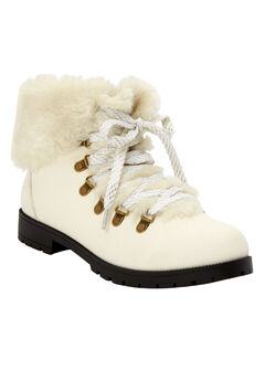 The Arctic Bootie by Comfortview®, WHITE GOLD MULTI