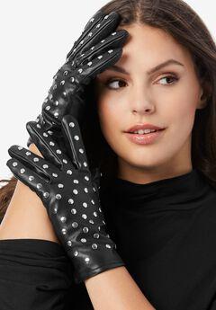 Faux Fur Gloves,