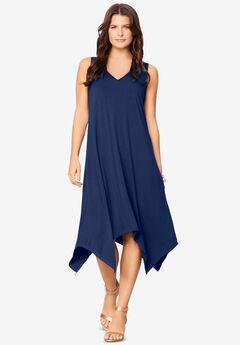 Sleeveless Swing Dress,