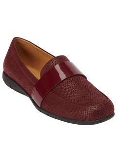 The Fiona Flat by Comfortview®, BURGUNDY