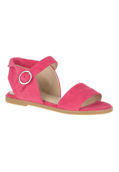 Abia Chrissie VL Sandals by Hush Puppies®, PARADISE PINK SUEDE, hi-res