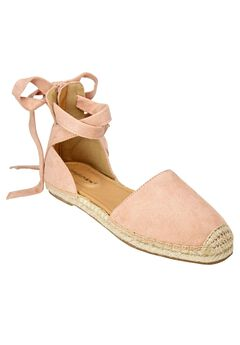 Shayla Flats by Comfortview®, DUSTY PINK