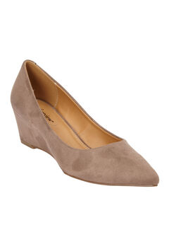 The Senne Pump by Comfortview®, DARK TAUPE, hi-res