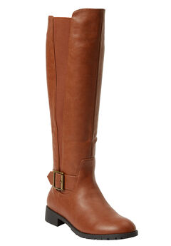 51f434a2231 The Milan Wide Calf Boot by Comfortview®