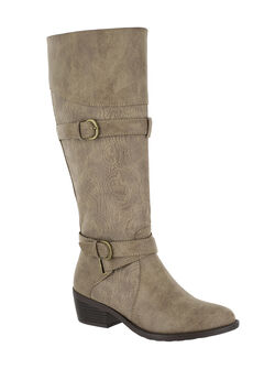 Kelsa Boots by Easy Street®, TAUPE E, hi-res