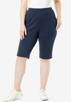 Soft Knit Bermuda Short,