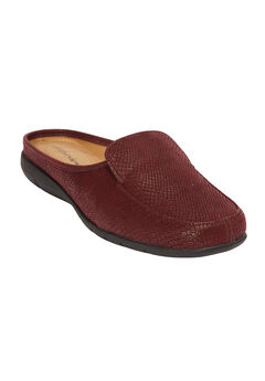The Estelle Mule by Comfortview®, BURGUNDY