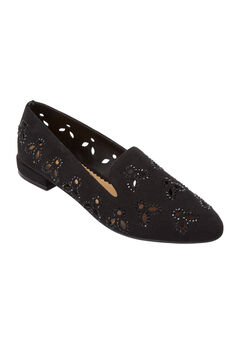 The Brenna Flat by Comfortview®, BLACK, hi-res