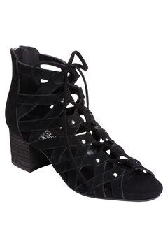 Middle Ground Sandals by Aerosoles®, BLACK SUEDE, hi-res