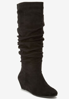 The Tamara Wide Calf Boot by Comfortview®,