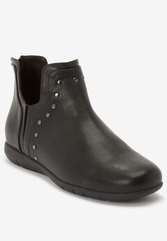 The Tulip Bootie by Comfortview®, BLACK