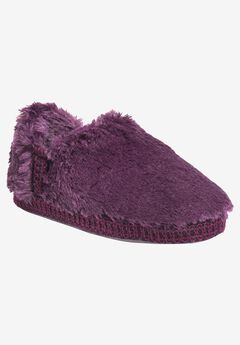 Joanna Fur Moccasin Slipper by Muk Luks,