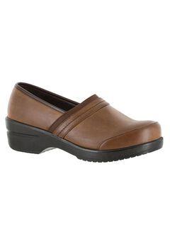 Origin Clog by Easy Street®, TAN BURNISHED, hi-res