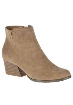 Gleda Booties by Soft Style, TAUPE NUBUCK, hi-res