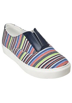 Maisy Sneaker by Comfortview®, MULTI STRIPE