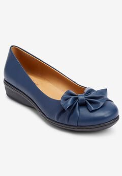 The Pamela Slip-On Flats by Comfortview®,