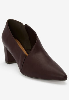 The Leigh Shootie by Comfortview®, BROWN