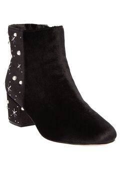 The Sidney Booties by Comfortview®, BLACK PEARL