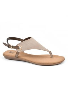 London Thong Sandal by White Mountain,
