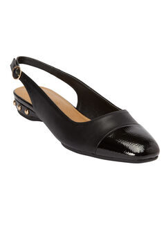 The Angela Flat by Comfortview®, BLACK, hi-res