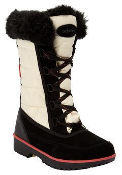 The Eileen Waterproof Boot by Comfortview®, BONE CORAL MULTI, hi-res