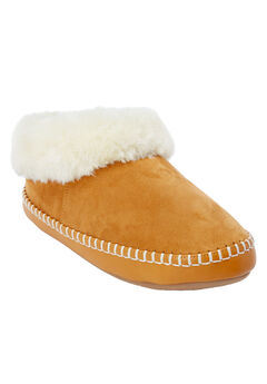 The Wynter Slipper by Comfortview®, BROWN MAPLE