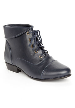 The Darcy Bootie by Comfortview®, NAVY, hi-res
