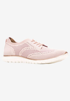Tricia Wingtip Knit Sneaker by Hush Puppies,