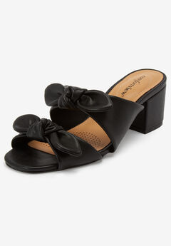 The Brea Mule by Comfortview®, BLACK