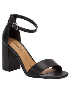 Belle Sandals by Comfortview®, BLACK, hi-res