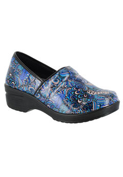 Lyndee Slip-Ons by Easy Works by Easy Street®, BLUE POP PATENT, hi-res