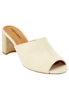 Ranet Mules by Comfortview®, OATMEAL, hi-res