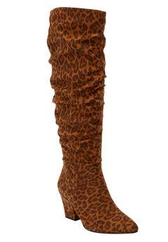 The Walker Wide Calf Boot by Comfortview®,