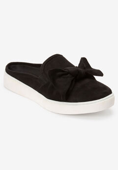 The Cece Mule Sneaker by Comfortview®, BLACK