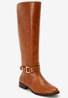 The Milani Wide Calf Boot by Comfortview®,