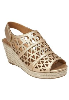 Karen Wedge Sandals by Comfortview®,