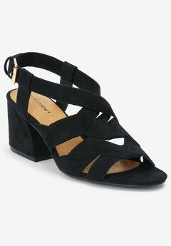 The Felipa Sandal by Comfortview®, BLACK