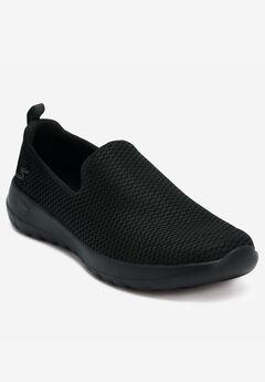 GOwalk Joy Sneakers by Skechers®, BLACK MEDIUM, hi-res