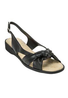 Marlee Sandals by Comfortview®, BLACK, hi-res