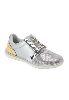 The Faith Sneaker by Comfortview®, METALLIC