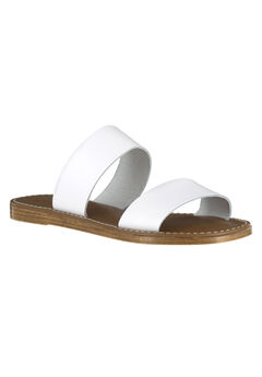 Imo-Italy Sandals by Bella Vita®, WHITE LEATHER, hi-res
