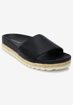 The Evie Footbed Sandal by Comfortview®,