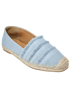 Rae Flats by Comfortview®, LIGHT DENIM, hi-res
