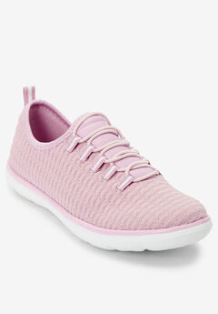 The Ariya Sneaker by Comfortview®, ROSE PINK