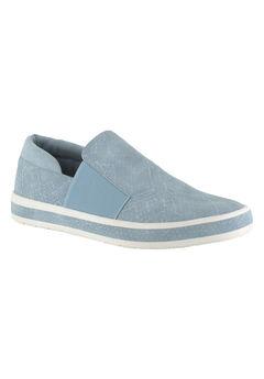 Switch II Sneakers by Bella Vita®, PALE BLUE SNAKE, hi-res