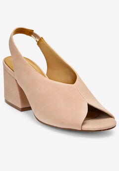The Nessa Slingback by Comfortview®, BLUSH