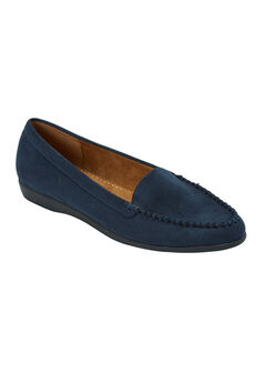 The Joanna Flat by Comfortview®, NAVY, hi-res