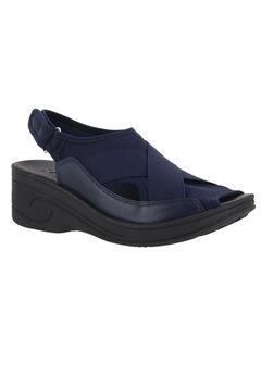 Delight Sandals by Easy Street®, NAVY NEOPRENE, hi-res