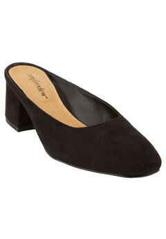 Judy Mules by Comfortview®, BLACK