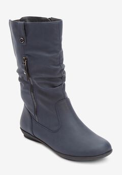 The Keomi Wide Calf Boot By Comfortview®,
